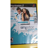 Singstar Pop Original Ps2 Lacrado Mídia Física