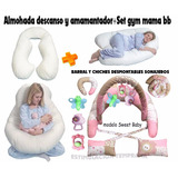Almohada Embarazada+set Gym Mama Bebe.10 Productos!!!