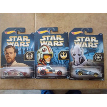 Hot Wheels Star Wars 3 Vehiculos Coleccion 2015 Claritoys