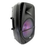 Bocina Amplificada Usb Sd Bluetooth Recarga 12p Qfx Pbx-bf15