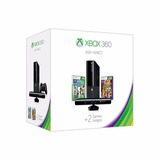 Xbox 360 E 4g Nuevos + Kinect + Software + 5 Jgs + Financiam
