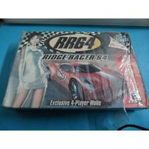 Caixa Rr Ridge Racer Original Nintendo 64 N64 (com Berço)