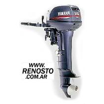 Motores Yamaha 15hp Pata Larga Entrega Inmediata! Renosto