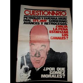 Revista Cuestionario.año Ii Nº 19. De Noviembre De 1974