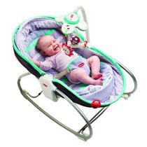 Cadeira De Balanço 3 Em 1 Rocker Napper Turquesa - Tiny Love