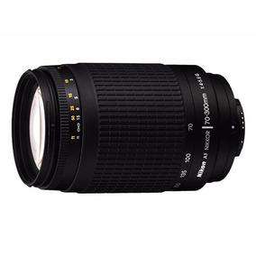 Lente Nikon 70-300mm Af Zoom F/4-5.6g Com Parasol