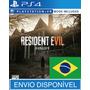 Resident Evil 7 Ps4 Psn Original 1 - Aluguel 2 Semanas