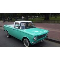 Fiat 1500 Multicarga 1969 Unico De Coleccion Entendidos