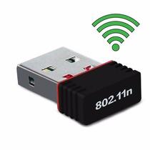 Mini Adaptador Receptor Wifi Usb Nano 150mbps Wireless