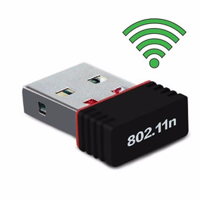 Adaptador Wireless Usb Wifi 150mbps Lan B/g/n Sem Antena
