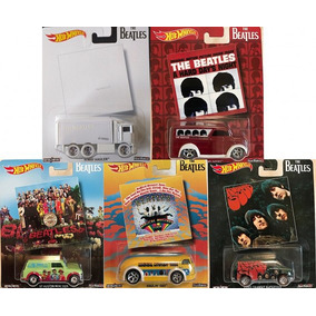 Hot Wheels Pop Culture The Beatles Lote Completo 5 Peças