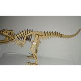 Dinossauro Allosaurus 3d Mdf Puzzle Quebra Cabeça 13