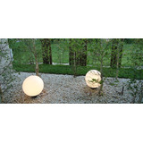 Farola Globo Polietileno 45 Cm -para Pilares O Sobre Jardin