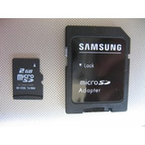 Memoria Samsung Micro Sd 2gb