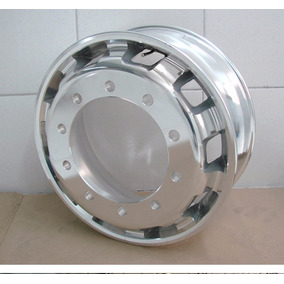 Roda De Alumínio Caminhão Speed 10 Furos Polida 12x S/ Juros