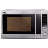 Horno A Microondas Atma Md-930 Gxn 30 Lts. Dig. Grill/acero