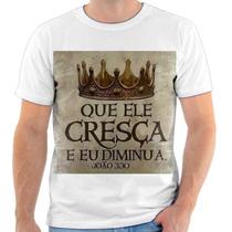 Camisa, Camiseta Gospel Moda Evangélica Frases Cristã 222