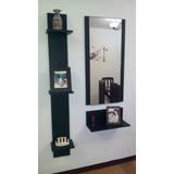 Consolas O Recibidores Modernos Minimalistas Con Espejo