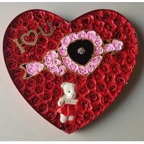 Arreglos Florales Para San Valentin 100 Rosas Artificiales