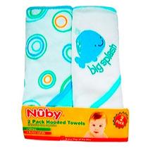 Toallas Con Capucha Para Bebe Nuby Set De 2 Piezas