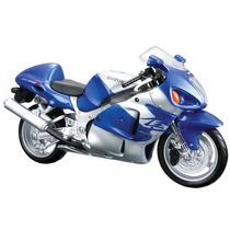 Maisto-moto Miniatura Suzuki Gsx 1300r Hayabusa Azul 1:12 31