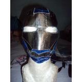 Mascara De Ironman P/niño Iron Man Patriot Avengers