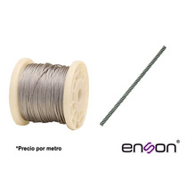 Enson Cable Retenida X Mt 3/16 P/torre Arriostrada Hasta 30