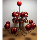 Decoración En Herrería , Navidad Centro De Mesa