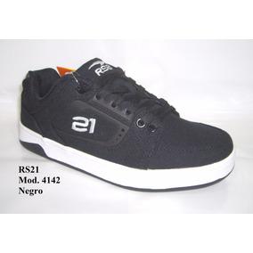 Zapatos Rs21 Mod. 4142 Urbano Juvenil 35 A La 40 Skate