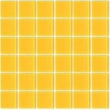 Mosaicos De Vidrio Amarillo Sole Cocinas - Piscinas- Baños