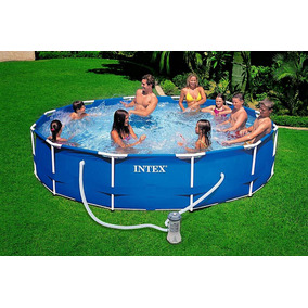 Piscina armable intex en mercado libre m xico for Piscina desmontable rectangular 3x2