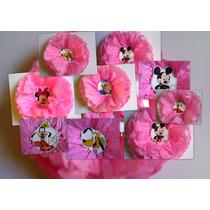 Decoración Cumpleaños Minnie, Mickey Completa
