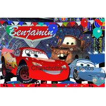 Banners Cars/cartel Car/ Cumpleaños Infantil/fiesta Niños