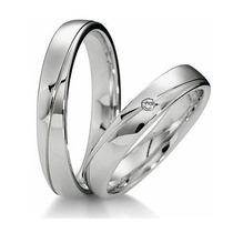 Hermosas Argollas De Matrimonio Plata, Oro, Diamante Natural