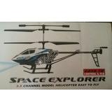 Helicóptero Rc 3.5 Canales Carga Usb A Reparar