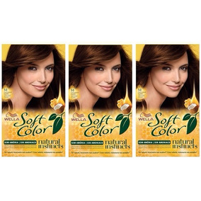 Soft Color Wella Kit 50 Castaño Claro X 3u Consulte Stock