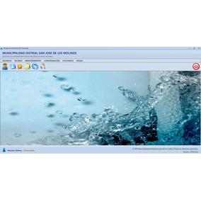 Software De Cobro De Agua Potable Y Alcantarillado