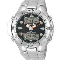 Relógio De Mergulho Citizen Aqualand Jp1060-52e Pesca Sub