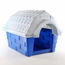 Casa Super Gigante Azul E Branca Cães De Grande Porte N6