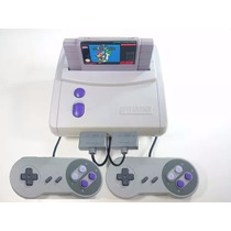 Super Nintendo + Super Mario World + 2 Controles Completo