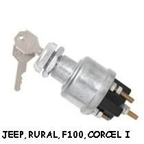 Chave De Partida Cilindro Ignição Jeep F75 Rural,corcel I