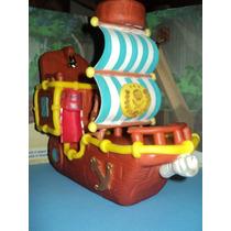 Barco De Jake Y Los Piratas Del Nunca Jamas, Porcelana Fria!