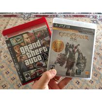 God Of War Saga E Gta 4 Jogos Playstation 3 Seminovos