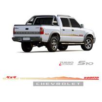 Kit Faixa Adesivo Rodeio Chevrolet S10 2006 Mod2