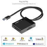 Leitor De Cartão De Memória Usb 3.0 Sd, Compact Flash ...