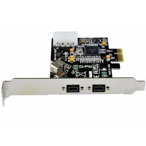 Tarjeta Pci-e Firewire 800 Texas Instrument 1394b Pc Mac