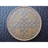 República Portuguesa - Moneda De 1 Escudo, Año 1974 - M/b