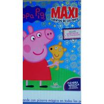 Peppa - Pig Maxicuentos De Colores Libro+pizarra 1 Volumen
