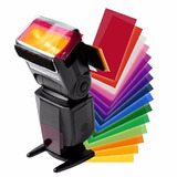 Kit Gel Para Flash 12 Colores Canon Nikon Yongnuo Sony Etc