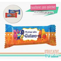 Backyardigans - Envoltorio Chocolatín Para Imprimir